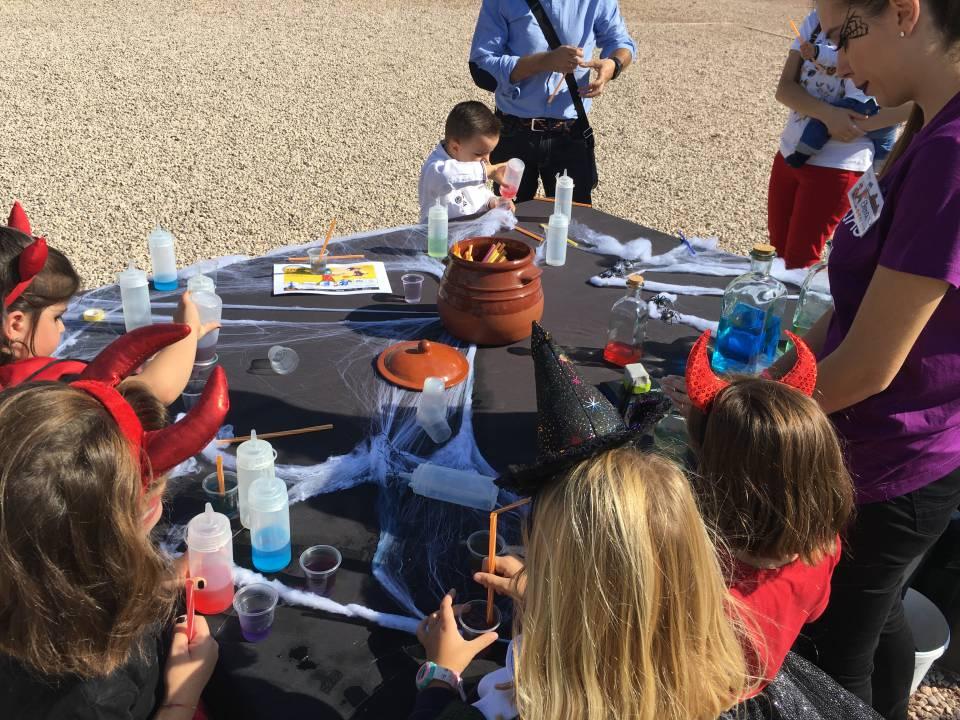 Fiestas infantiles de brujas en el Castillo de Lorca