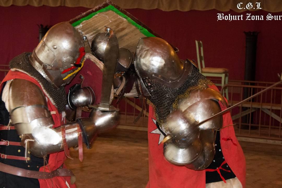 Entrenamiento Combate Medieval (C. Almodóvar)
