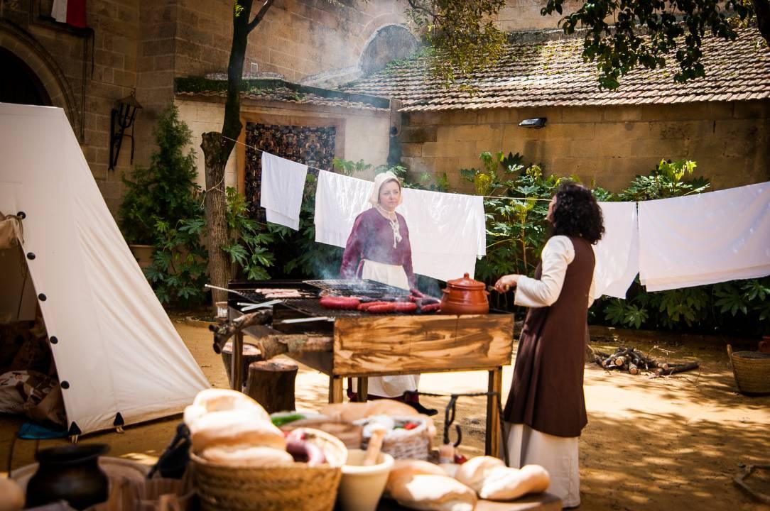 Almuerzos medievales