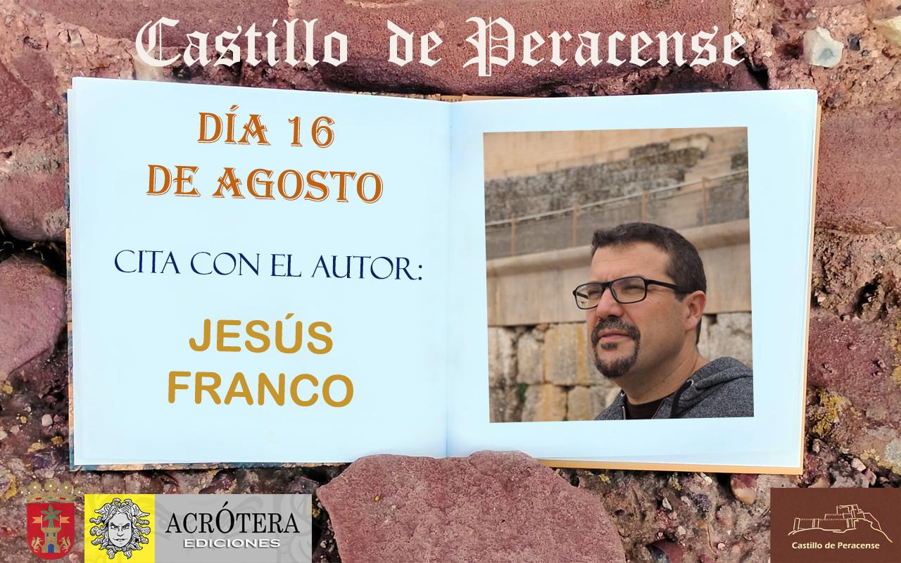 Visita Castillo de Peracense y Cita con el Autor Jesús Franco