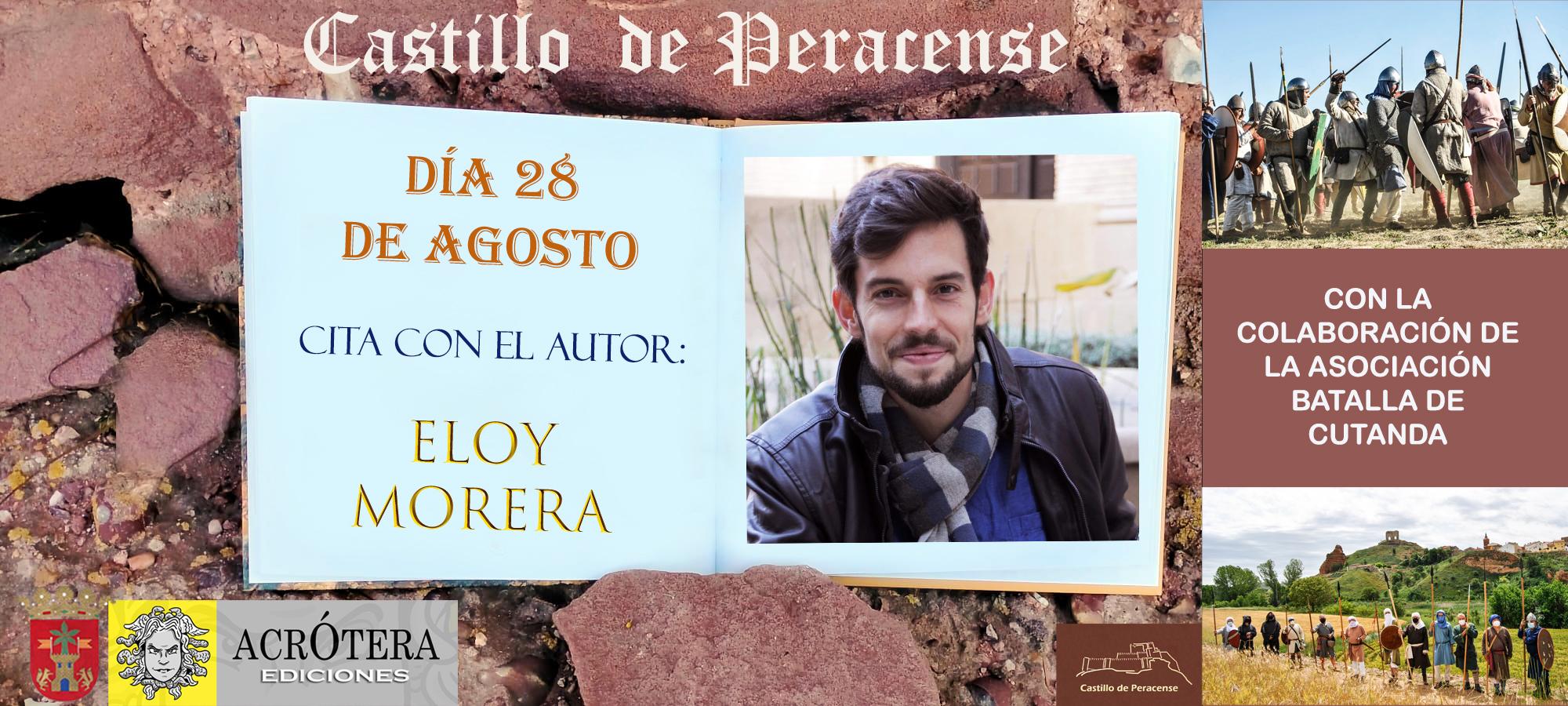 Visita Castillo de Peracense y Cita con el Autor Eloy Morera