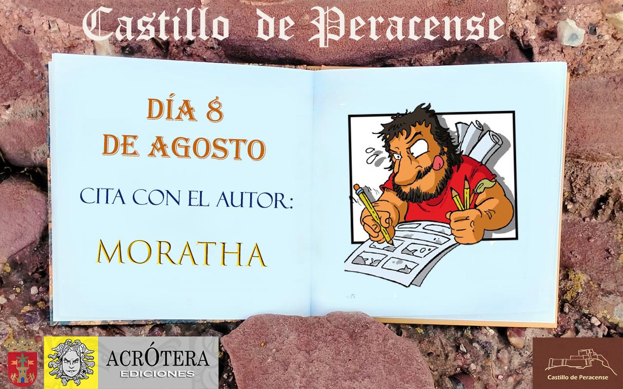 Visita Castillo de Peracense y Cita con el Autor Moratha